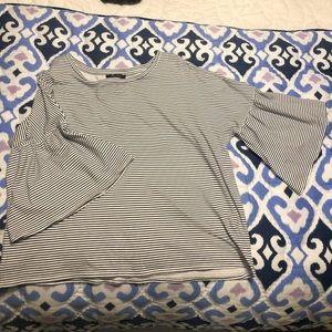 Nordstrom Rack bell sleeve blouse